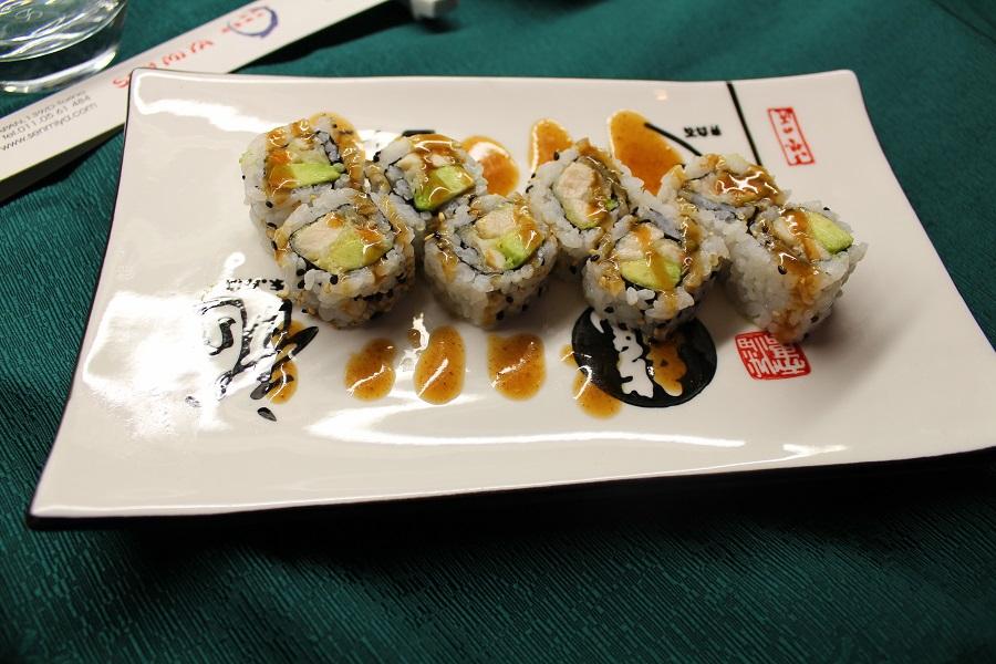 tempura maki di pollo