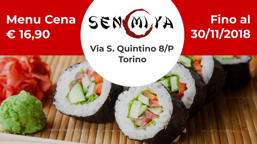 Promozione Senmiya San Quintino Torino